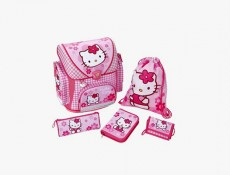 Under Cover Hello Kitty Schulranzen Set ergonomisch